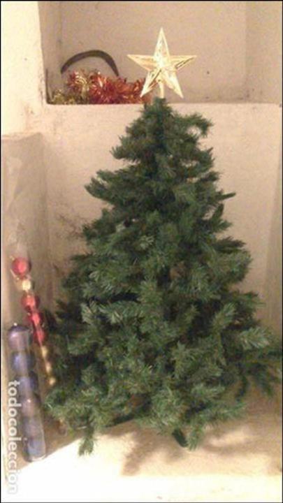 57d17d0ab10 arbol de navidad plegable con adornos