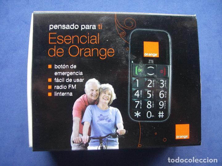 TELEFONO ZTE ORANGE / BOTON EMERGENCIAS , FACIL DE USAR , RADIO FM ,LINTERNA Pepeto Pdeluxe ELECRO. segunda mano