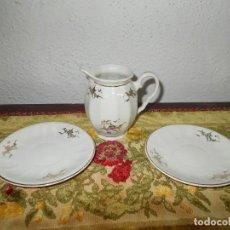 Segunda Mano - Lechera y 2 platos porcelana MAO - 62956300