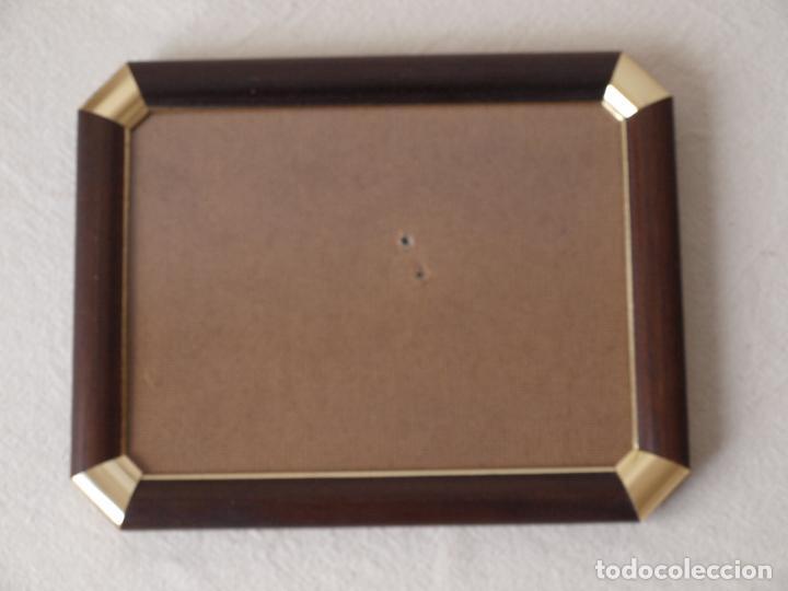 marco de fotos de madera y metal dorado.23 x 18 - Comprar artículos ...