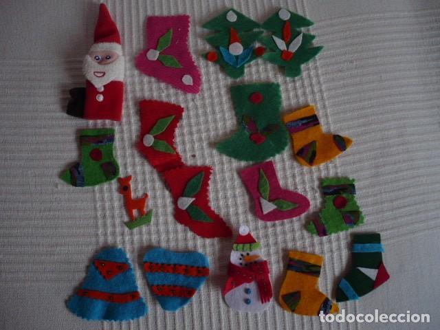 Adornos de navidad artesanos hechos con fieltro comprar art culos de segunda mano de hogar y Adornos de navidad hechos a mano