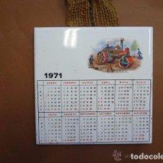 Segunda Mano: ANTIGUO AZULEJO - CALENDARIO 1971 - PB1. Lote 64184127
