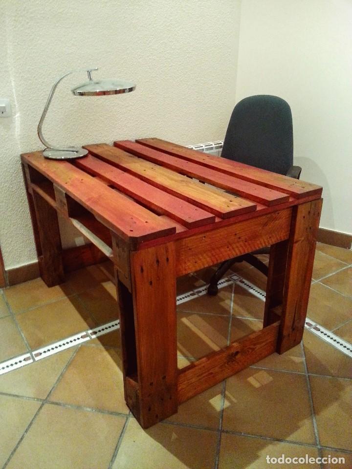 Mesa de escritorio pal reciclado comprar art culos de - Decoracion segunda mano ...