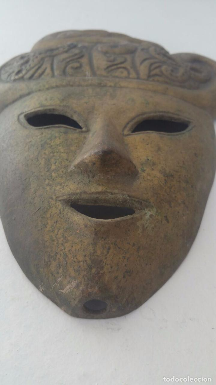 Segunda Mano: Mascara veneciana de bronce - 26 x 19 cm - Foto 2 - 65053123