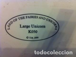 Segunda Mano: FIGURA UNICORNIO K050 COLECCION LAND OF THE FAIRIES AND UNICORNS - Foto 6 - 105817887