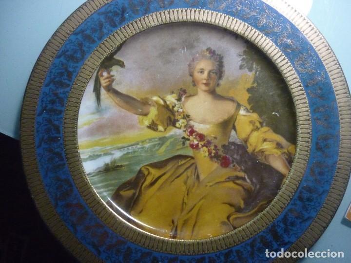 PLATO PORCELANAS GUILLEN. 27 CM DIÁMETRO. (Segunda Mano - Hogar y decoración)