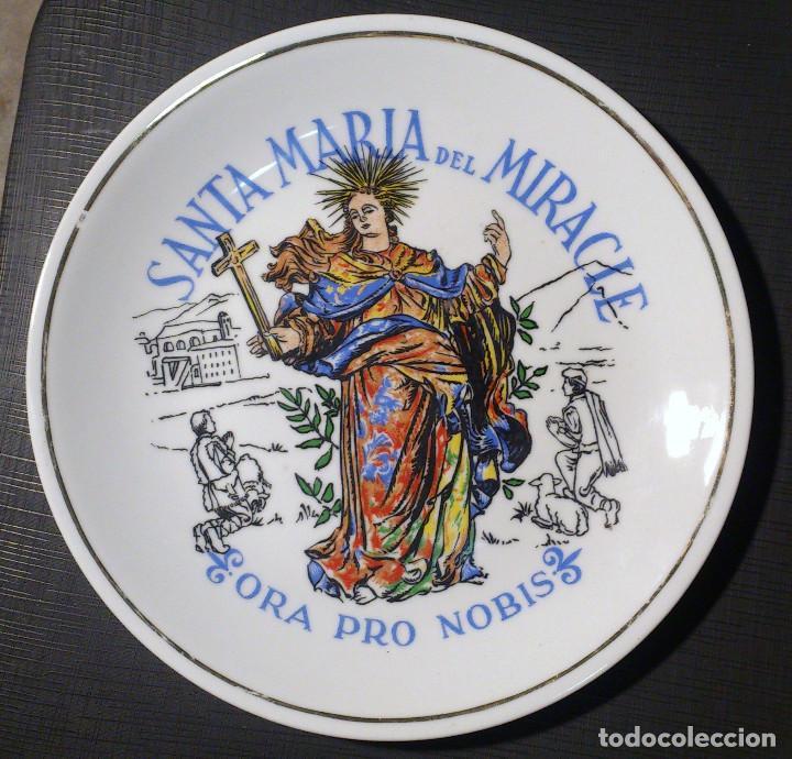 PLATO DE SANTA MARIA DEL MIRACLE - SOLSONA (Segunda Mano - Hogar y decoración)
