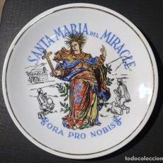 Segunda Mano: PLATO DE SANTA MARIA DEL MIRACLE - SOLSONA. Lote 67052090