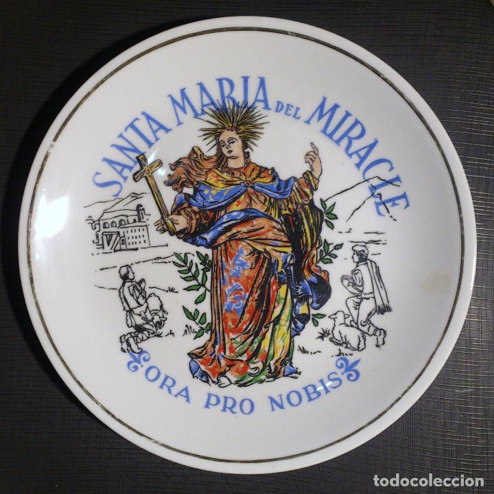 Segunda Mano: PLATO DE SANTA MARIA DEL MIRACLE - SOLSONA - Foto 2 - 67052090