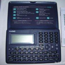 Segunda Mano: AGENDA ELECTRONICA DIGITAL.DIGITAL DIARY SF-3300 ER BU-W CASIO DE 32 KB.. Lote 67429709