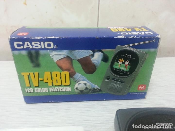 Segunda Mano: TELEVISION PORTATIL CASIO TV-480 LCD COLOR - VINTAGE - Foto 2 - 67749141