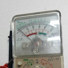 Segunda Mano: POLIMETRO O TESTER ANTIGUO AÑOS 80 RVX-108. Lote 67986305