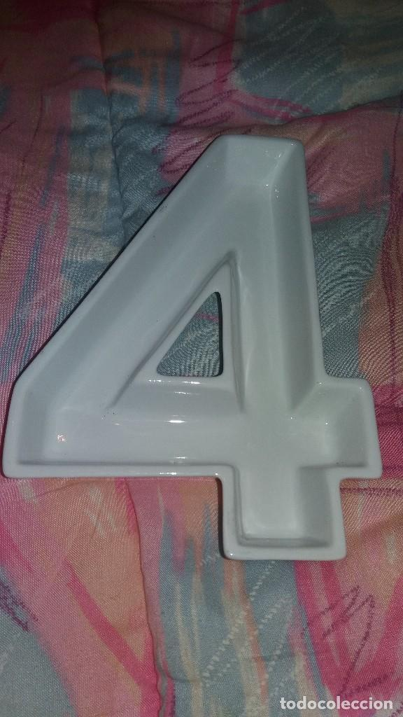 Segunda Mano: Original fuente para aperitivos nº 4 de porcelana blanca. - Foto 2 - 68187757