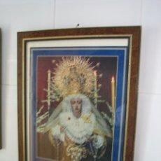 Segunda Mano: CUADRO DE VIRGEN LA ESTRELLA.MEDIDAS 35X46 CM. Lote 68229197