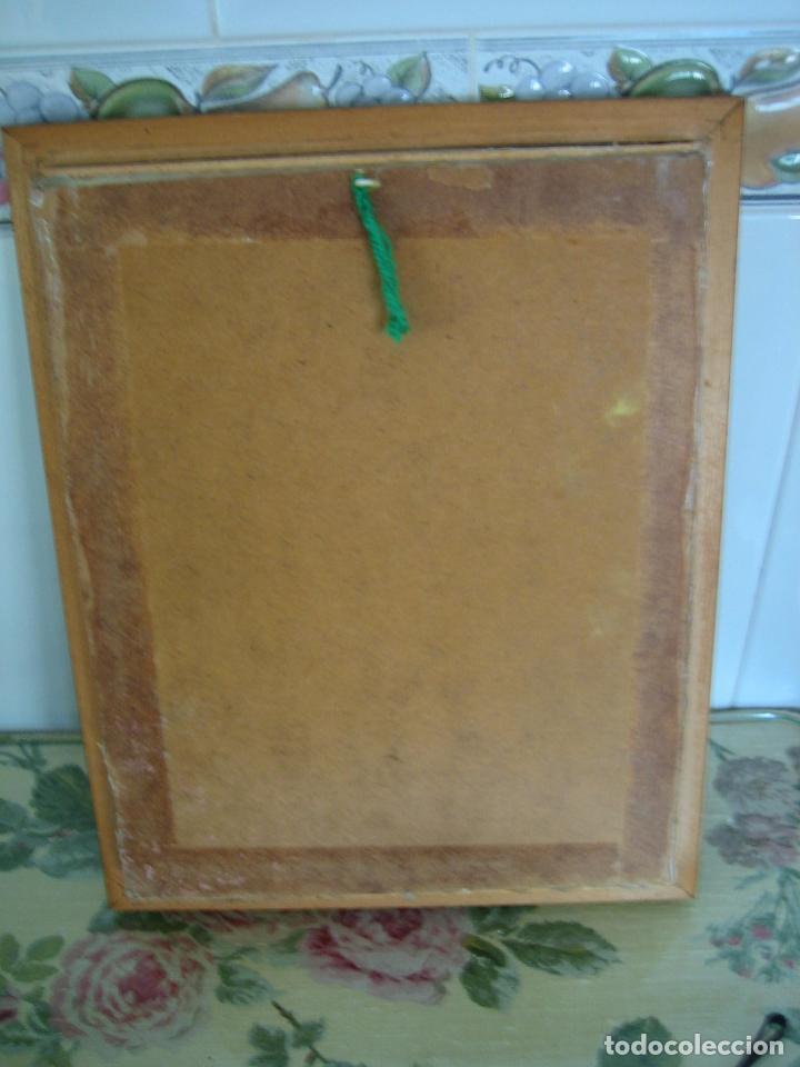 Segunda Mano: Cuadro religioso de virgen.Medidas 28x34 cm - Foto 4 - 68229317