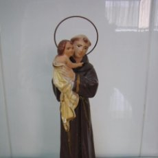 Segunda Mano: FIGURA RELIGIOSA DE SAN ANTONIO. ALTURA 25 CM. Lote 68230813
