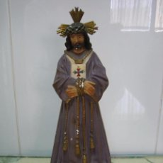 Segunda Mano: FIGURA RELIGIOSA DE JESUS RESCATADO. ALTURA 22 CM. Lote 68230857