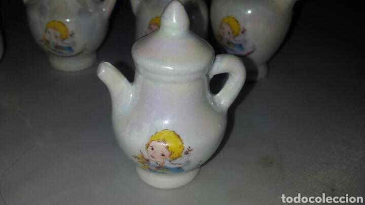 Segunda Mano: Lote 22 figura cerámica DETALLE RECUERDO PRIMERA COMUNIÓN - BOTIJO JARRA TETERA ... - Foto 4 - 68460713