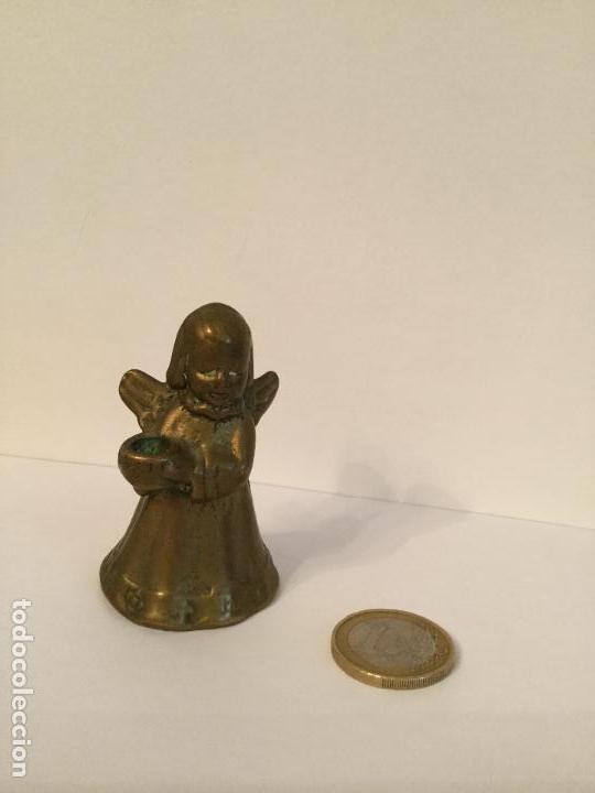 Segunda Mano: MINI ANGELITO CANDELERO DE BRONCE DORADO - Foto 5 - 69755797