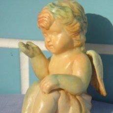 Segunda Mano: FIGURA ANGELITO DE RESINA DE 11 CM. Lote 71494135