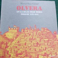 Segunda Mano: LIBRO DE OLVERA. Lote 71552523