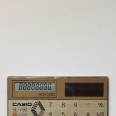 Segunda Mano: CASIO SL-750. Lote 71661650