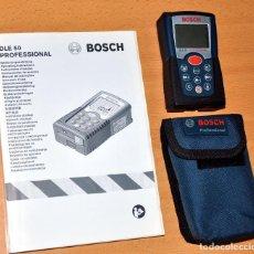 Segunda Mano: MEDIDOR DE DISTANCIAS LASER DE BOSCH - MODELO: DLE 50 PROFESSIONAL - AÑO 2009 - COMO NUEVO. Lote 72079887