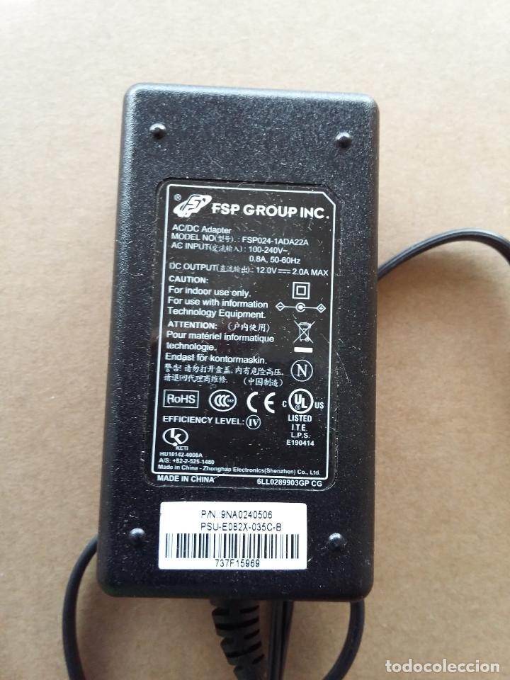 03-00043 TRANSFORMADOR FSP GROUP INC. 220V A 12 VOLT-2 AMP (Segunda Mano - Artículos de electrónica)