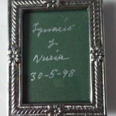Segunda Mano: PORTAFOTOS MINI 6 X 4,5 CM. NUEVO EN SU CAJA ORIGINAL. Lote 74541667