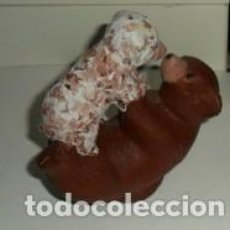 Segunda Mano: PAREJA DE OSOS DE ESCAYOLA, HUECOS. . Lote 74718007