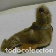 Segunda Mano: FOCA EN MINIATURA DE PELO, PIEL.. Lote 75028787