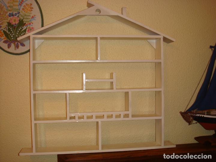 Antigua Casita Casa Cuadro De Madera Con Esta Comprar