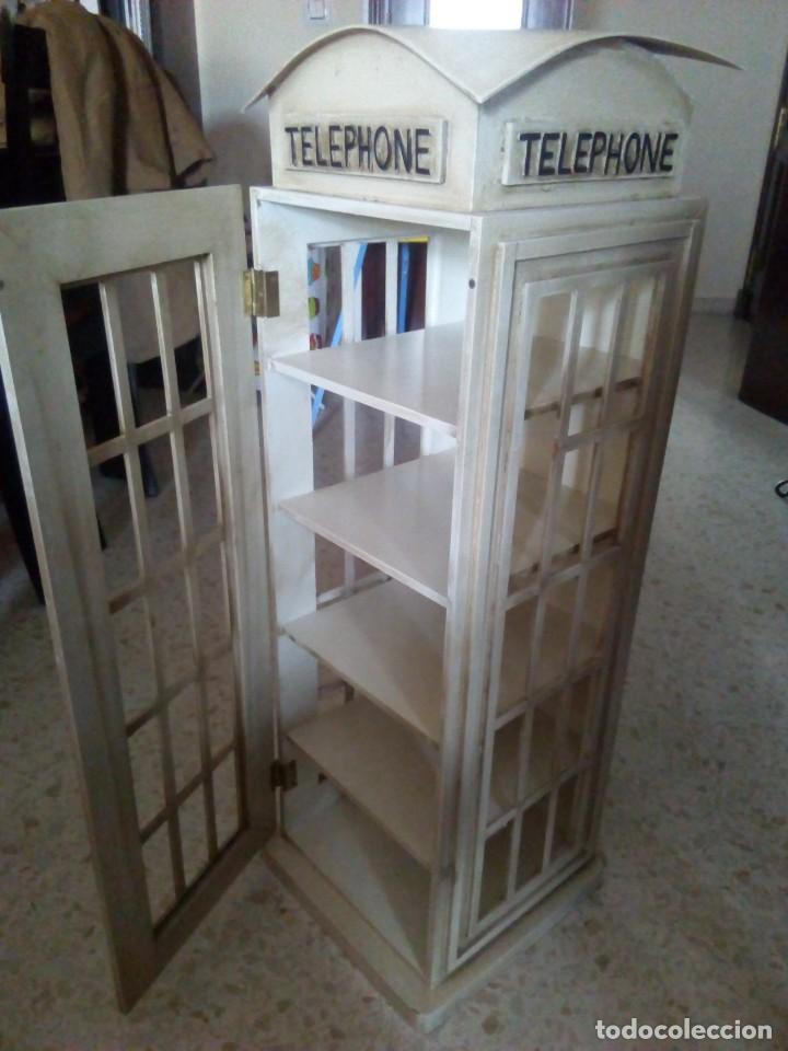 Mueble tipo cabina tel fonos inglesa comprar art culos de segunda mano de hogar y decoraci n - Decoracion segunda mano ...