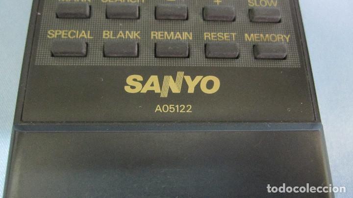 Segunda Mano: MANDO A DISTANCIA SANYO .VIDEO VHS. PANTALLA LED. FUNCIONANDO - Foto 2 - 75719303
