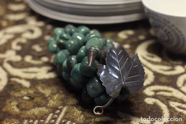Segunda Mano: Precioso Adorno, Racimo Uvas piedra Semipreciosa Cuarzo Verde - Foto 2 - 76917771