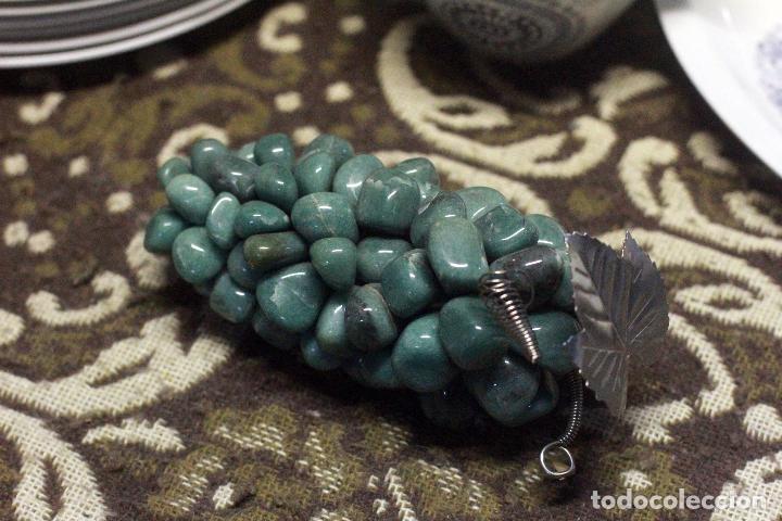 Segunda Mano: Precioso Adorno, Racimo Uvas piedra Semipreciosa Cuarzo Verde - Foto 3 - 76917771