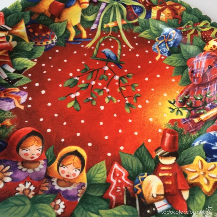 Segunda Mano: Porcelana de Gien Plato Navidad Año 2008 - Foto 2 - 77261563