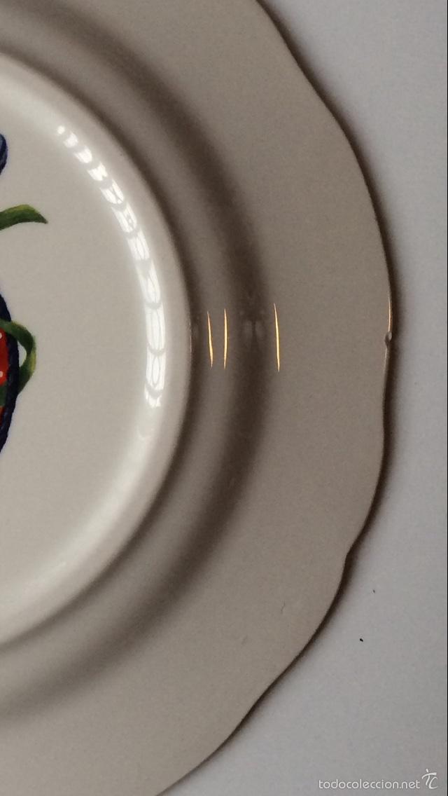 Segunda Mano: Porcelana de Gien Plato Navidad Año 2008 - Foto 4 - 77261563