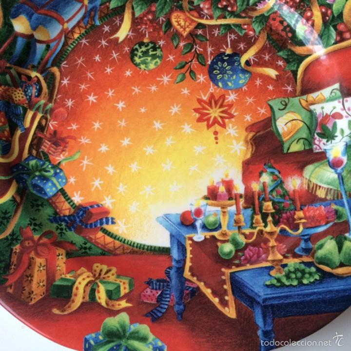 Segunda Mano: Porcelana de Gien Plato Navidad Año 2006 - Foto 2 - 77262449