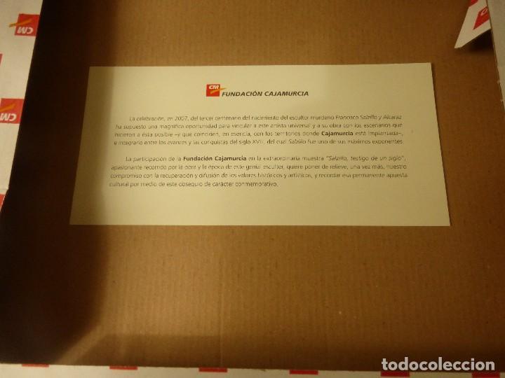 Segunda Mano: PLATO CONMEMORATIVO DEL TERCER CENTENARIO DEL NACIMIENTO DE SALZILLO - Foto 2 - 77357557