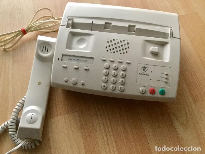 Segunda Mano: Teléfono y fax. Novofax - Foto 2 - 78565321