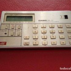 Segunda Mano: CALCULADORA ML- 71 ELECTRONIC CALCULATOR & WATCH. Lote 78910401