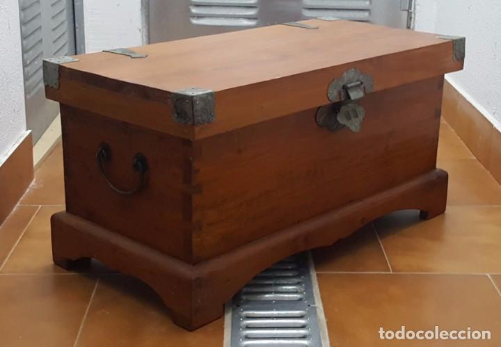 Arc n baul de madera comprar art culos de segunda mano for Decoracion hogar segunda mano