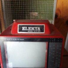 Segunda Mano: MINI TELEVISION ELEKTA BTR-201. Lote 79747817