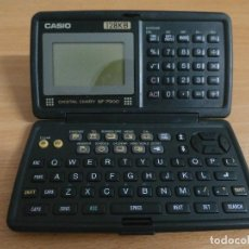 Segunda Mano: DIARIO CALCULADORA Y AGENDA DIGITAL ELECTRONICA CASIO 128 KB VINTAGE. Lote 80168021