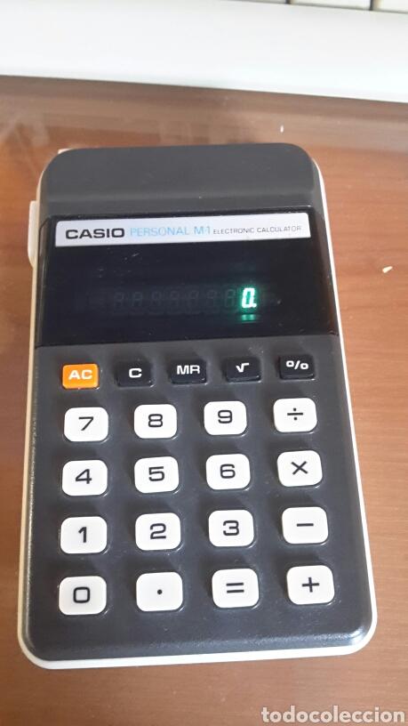 ANTIGUA CALCULADORA CASIO M-1 FUNCIONANDO (Segunda Mano - Artículos de electrónica)