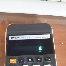 Segunda Mano: ANTIGUA CALCULADORA CASIO M-1 FUNCIONANDO. Lote 80559302