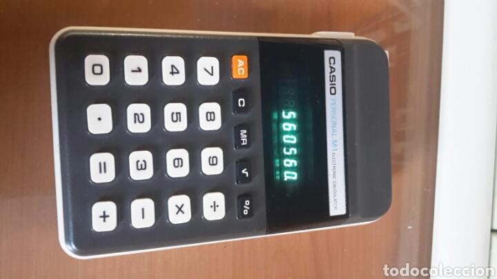 Segunda Mano: Antigua calculadora casio M-1 funcionando - Foto 4 - 80559302