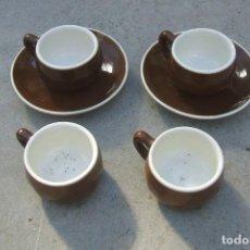 Segunda Mano: TAZAS Y PLATOS CAFÉ.. Lote 81911548