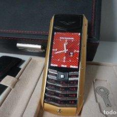 Segunda Mano: TELEFONO MOVIL FERRARI VERTU SPECIAL EDMON EDICIÓN LIMITADA (SOLO CREARON 211 MOV. EN EL MUNDO). Lote 82077968